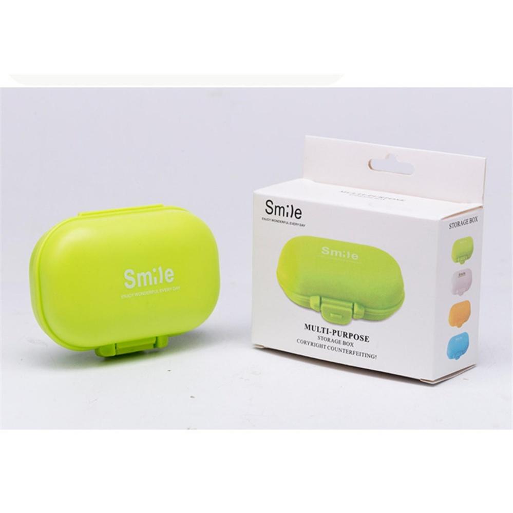 ... Yika Small fresh Maccaron portable 4 grid small kit suitcaseplastic storage box jewelry box kit ...