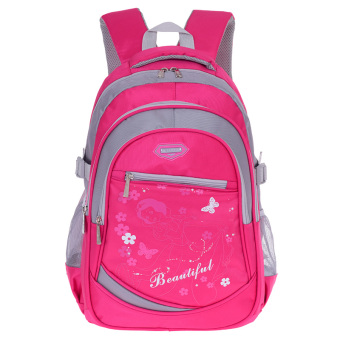 Young student's boy's girls spinal care shoulder backpack children's school bag