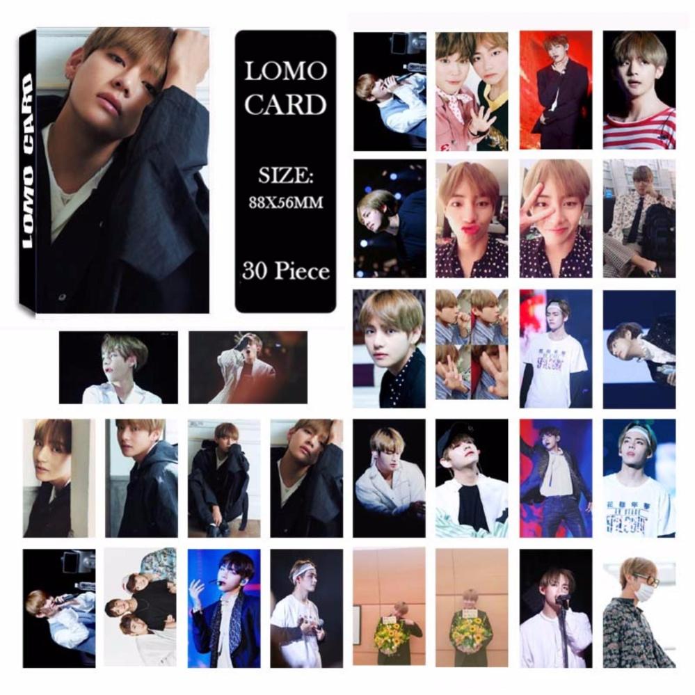 Youpop KPOP BTS Bangtan Boys Japan Album V LOMO Cards K-POP NewFashion Self Made