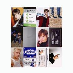 Youpop KPOP GOT7 FLIGHT LOG ARRIVAL Never Ever JACKSON Album PhotoCard K-POP Self Made