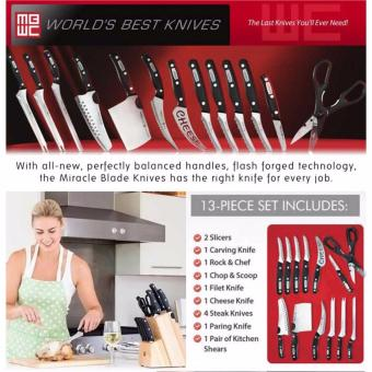 ZMB Miracle Blade World Class Complete 13-Piece Knife Set