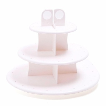 Zover Cake Pop Holds 42 Cups pops and Make Cupcakes MorePresentable and Cupcake Stand (White) Price Philippines
