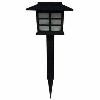 Zover LED Solar Powerered Garden Lawn Landscape Lamp Light Outdoor