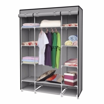 Zover Portable Heavy Duty Wardrobe Storage Shoes Organizer