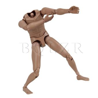 1:6 Nude Male Action Figure Version 2.0 (Brown)