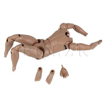 1:6 Nude Male Action Figure Version 2.0 (Brown) - picture 2