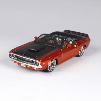 1 More than 24 Maisto 1970 Dodge Challenger Modified Alloy Automobile Simulation Model - intl Price Philippines