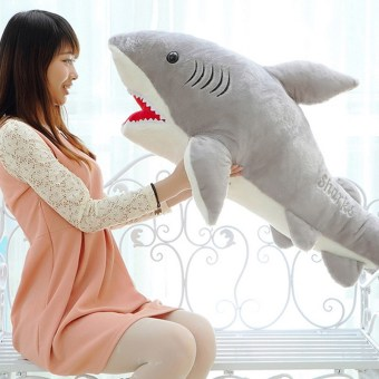 1 PC 70cm Shark Plush Toy Stuffed Pillow Doll Birthday Gift KidsToy Baby Toy for Children Boys Girls Gifts VBT69 T50