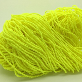 100 Pcs Durable Polyester String Multi Color Pro-poly Rope for Kids Children Yoyo Toy,Yellow - intl