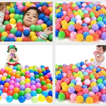 100 pcs Kids Baby Colorful Soft Play Balls Toy for Ball Pit SwimPit Ball Pool
