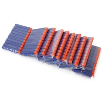 100Pcs Refill Foam Soft Darts Toy For Nerf N-strike Series Blasters7.2x1.2cm - intl Price Philippines