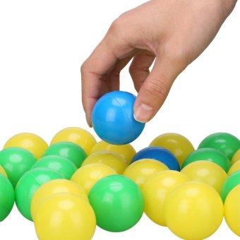 100pcs/set Soft Plastic Colorful Children Kids Ocean Balls BabyPits Swim Toys 4cm - intl - 4