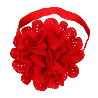 10pcs Cute Headband Hairband Flower Ears Tie Stretch Hair Accessories for Toddler Kids Baby - intl - 4