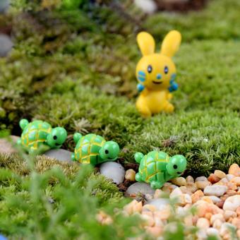 10pcs Miniature Bonsai Craft Garden Landscape DIY Tortoise Decor - picture 2