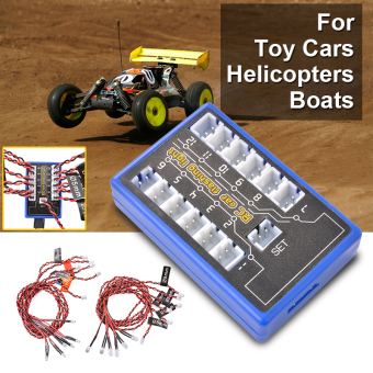 12-LED Multi-color Strobe Flash Light System for RC Car HelicopterModel RC359