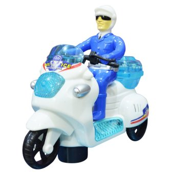 1212 Police Motorcycle (Blue)