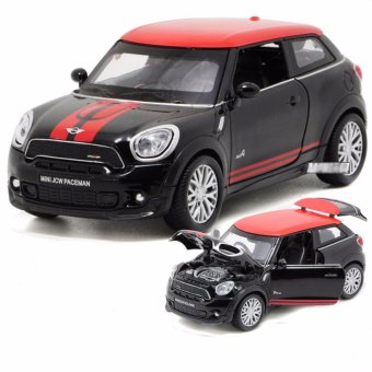 1:28 scale Diecast Metal BMW Mini Cooper Paceman Toy Car with Light& Sound - intl Price Philippines
