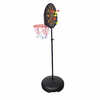 172cm Dual purpose Basketball stands with darts target