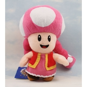17cm Toadette Stufffed Dolls Super Mario Toadette Plush Toy SoftToy For Girl Brithday Gift Retail - intl Price Philippines