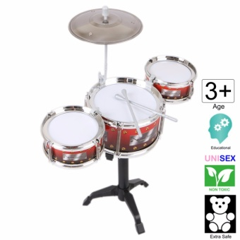 18 inch tall Jazz Drum Toy Set (Large) - Cutie (Red)