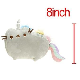 1pc 20cm/25cm Kawaii Cute Pusheen Cat Rainbow & Cake StylePlush Toys Stuffed & Plush Animals Toys Cute Cushion Kids BabyDoll Price Philippines