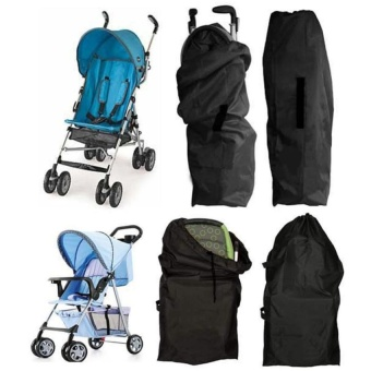 1Pc High Quality Baby Stroller Oxford Cloth Bag Buggy Travel Cover Case Umbrella Trolley Cover Bag Stroller Accessories(Trolley) - intl