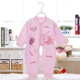1PCS Newborn Baby Clothes Long Sleeve Body Suits Jumpsuits - intl