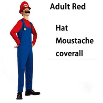 (1Set Adult Size L 175-185CM-Green)Funy Cosplay Party Dress Up Super Mario Adult Halloween Costumes for Men Women - intl - 5