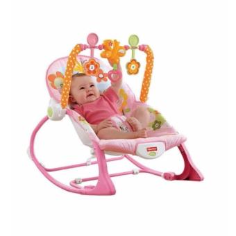 2 in 1 Fisher-Price Infant-to-Toddler Rocker (Pink)