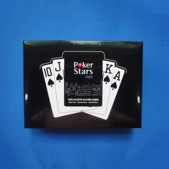 2 Sets/Lot Texas Holdem Plastic Playing Card Game Poker CardsWaterproof and Dull Polish Poker Star Board Games Gifts - intl Price Philippines