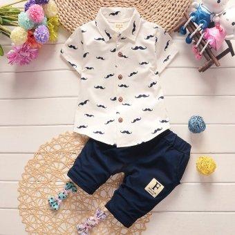 2017 New Arrival 2pcs/Set Polo Shirts Clothing Set for ChildrenKids Boys 80cm - intl - 3