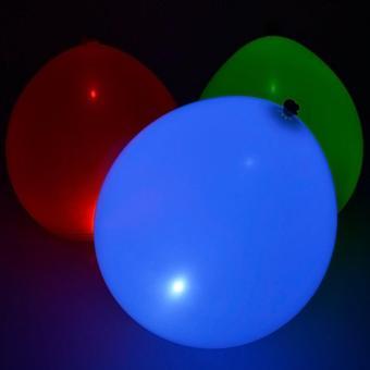 20Pcs/pack Glow In The Dark Lanterns Globos Party Baloons Led Flash Balloons Illuminated LED Balloon Wedding Birthday Decoration - intl - 3