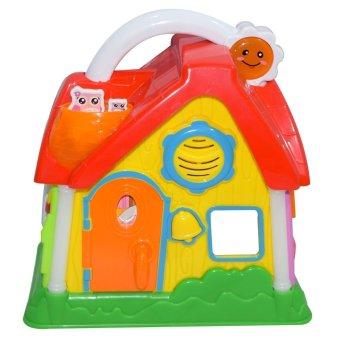 21702 QX-91106E Wonderful Life House (Multicolor)