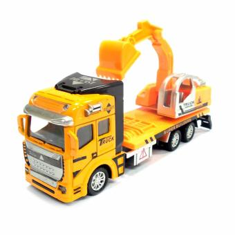 2211 Backhoe Loader Pull-Back Toy