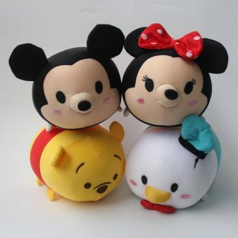 "23cm 9"" Tsum Tsum Plush Toy Mickey Winnie Donald Duck Minnie TsumTsum Mini Doll juguetes peluche jouet - intl Price Philippines"