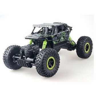 2.4Ghz High Speed 1:18 Remote Radio Control Electric Crawler Buggy RC Rock Racing Vehicle - intl