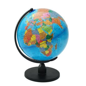 25cm Rotating World Earth Globe Atlas Map Geography Education Toy Desktop Decor - intl - 2