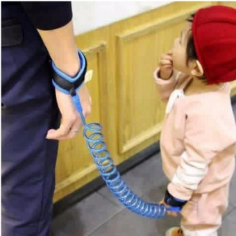 2.5M Baby Child Anti Lost Safety Velcro Wrist Link Traction Rope
