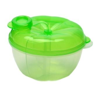 2Pcs Food Storage Container 3-Layer Milk Powder Box Baby Feeding - intl - 2