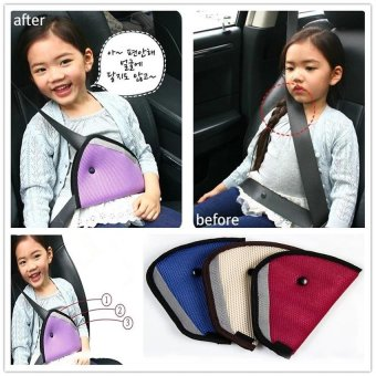 2PCS RHS Safety Seat Belt for Children Car Safety Belt AdjusterChild Resistant Belt Protector Shave - intl