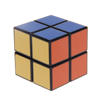 2x2x2 Ultra-smooth Two-layer Speed Magic Puzzle Rubik's Cube Toy - Multicolored - picture 2