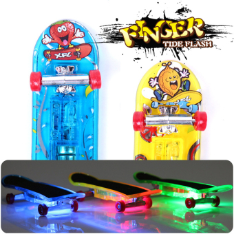 2XMini Skateboard Toys Finger Board Tech Deck Boy Kids ChildrenGifts (Intl)