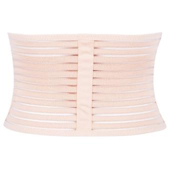 3 in1 Elastic Postnatal Waist Belt Postpartum Recovery Girdle Slimming Shapers Underwear L - intl - 5