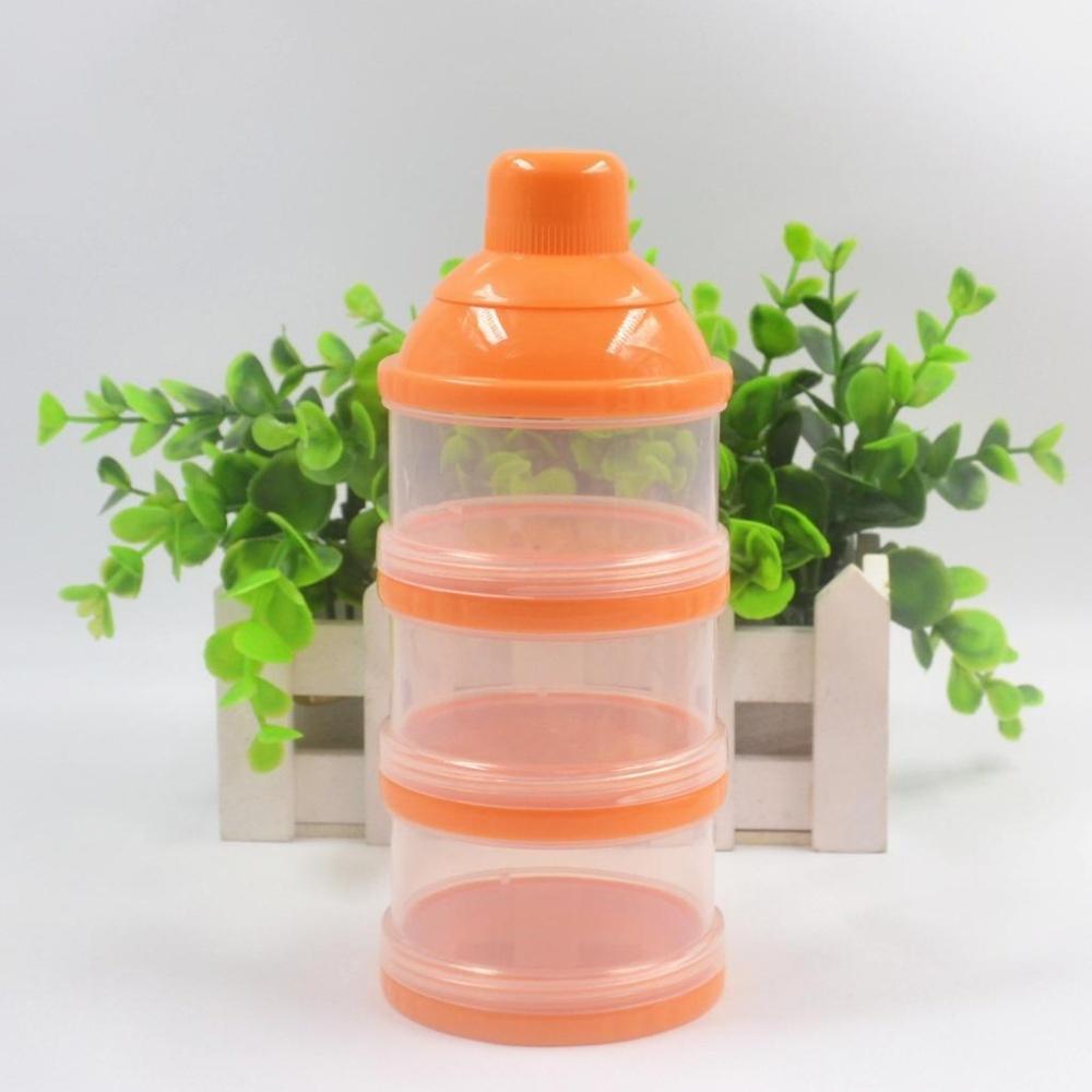 ... 3 Layer Baby Milk Powder Box Portable Baby Infant Feeding Storage Container Organizer Food Case Box ...