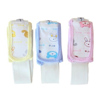 3 Pieces Baby Cotton Diaper Fasteners Baby Diaper Fixed Belt ,L - intl