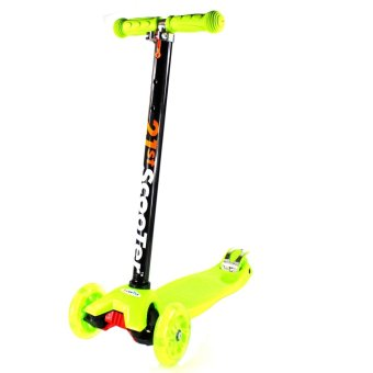 3-Wheel T-Bar Handle Kick Scooter (Green) - picture 2