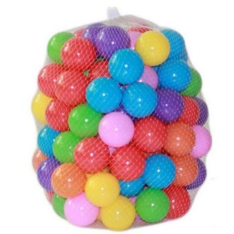 30 Pcs Bouncing Balls Ocean Ball Colorful Ball Fun Ball Kids Swim Pit Toys