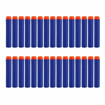 30pcs 7.2cm Refill Bullet Darts for Nerf Series Blasters Kid ToyGun Blue Price Philippines