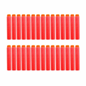 30pcs 7.2cm Refill Bullet Darts for Nerf Series Blasters Kid ToyGun Red Price Philippines