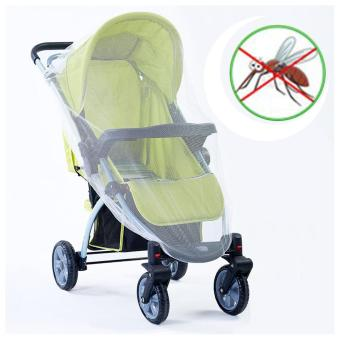 360DSC Baby Stroller Mosquito Net Mesh Bee Insect Cover - intl Price Philippines